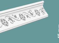 Плинтус потолочный FR-4543 жемчуг(уп.130шт)