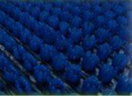 Коврик травка 60*45см синий