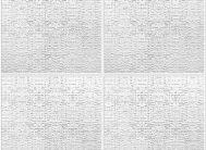 Плитка штампованная Мадрид/54 (упак.216 шт.) Солид