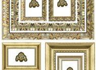 Декоративные с/к элементы Декоретто Рамки багет(F3501)