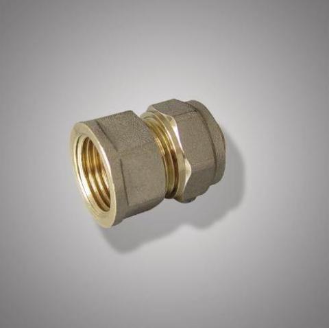 Соединитель прямой (патрубок) ц/г латунь F305.1605 (FR 1612-S16*3/4F) (уп.10шт.)ФРАП