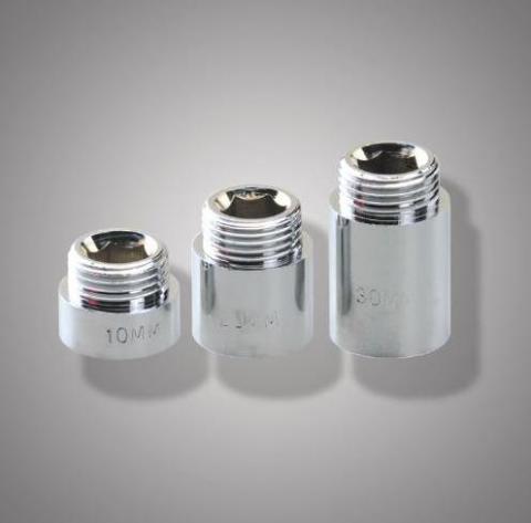 Удлинитель резьбовой латун. S3/4F*3/4М-50  ФРАП