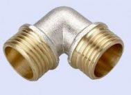 Уголок резьбовой латун. F326.0404 (L1/2M*1/2М) (уп.5шт) ФРАП