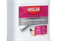 Грунтовка акриловая ГЛУБОКОПРОНИКАЮЩАЯ для наруж. и внутр. работ 20 кг (уп.1 шт.) NEOLAB