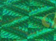 "Пленка с/к ""HONGDA"" арт.1005 (голограф. зел) 0.45х8м"