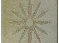 Набор ковриков Залел (1предмет) 60*100см желтый