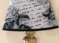 Стикер 1322/1 Лампа Розы (золото)