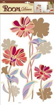 Стикер 3842 Осенний цветок