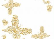 Плитка потол.лам/цв Солид С523/42 золото (уп.168шт.)