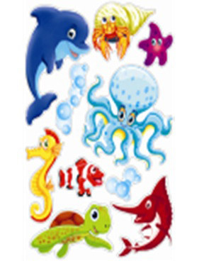 Стикер 1094 Морской мир