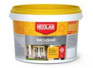 Акриловая супербелая краска ФАСАДНАЯ ВД-АК-1180 25 кг (уп.1 шт.) NEOLAB