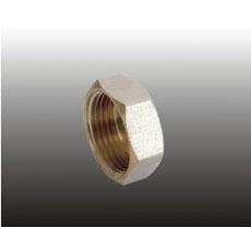 Заглушка в трубу резьбовая латун. F338.05 (GM-3/4F) (уп.10шт.) ФРАП