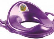 Адаптер детский пластик с ручками фиолет.