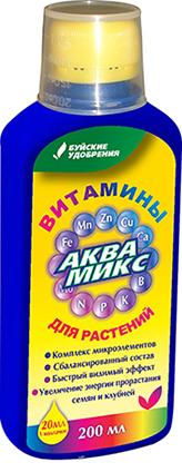Аквамикс раствор 200мл  (12 шт.)