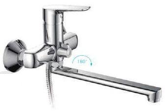 R-22105 Смеситель д/ванны хром Фруд ФРАП