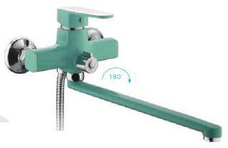 R-22303 Смеситель д/ванны бирюзовый Фруд ФРАП