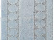 Набор ковриков Залел (1предмет) 55*85-90см голубой