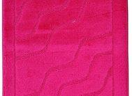 Набор ковриков Залел (1предмет) 55*85-90см бордовый