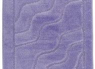 Набор ковриков Залел (2предмет) 60*100/60*50см сирень.