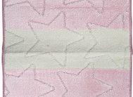 Набор ковриков Залел (1предмет) 60*100см роз./беж.