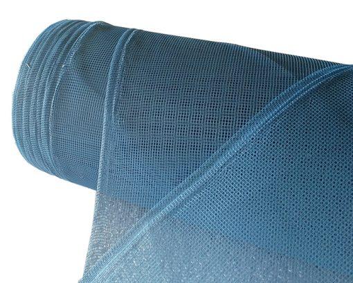 Сетка  антимоскитная шир.150см (рулон 50м) син.
