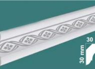 Плинтус потолочный FK-4016 жемчуг(уп.160шт)