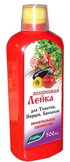 ЖКУ 500мл Волшебная лейка для томатов, перцев и баклажан(12 шт.)