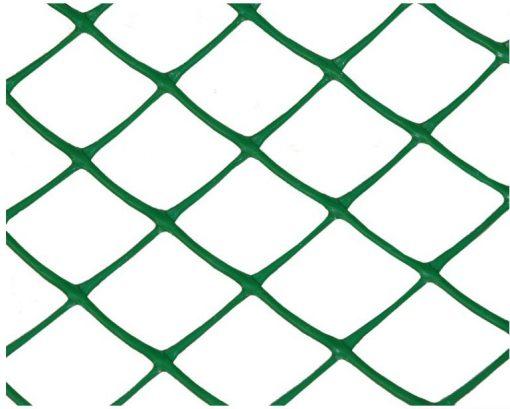 Заборная решетка З-35 (1,2х20м) ячейка 35х35мм зел/хаки