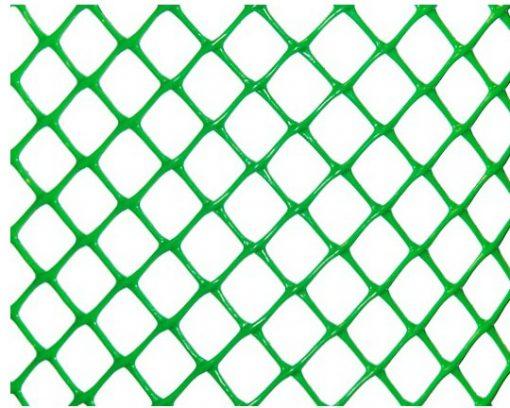 Заборная решетка Ф-18 (1,6х20м) ячейка 18х18мм зел/хаки