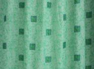 Штора для в/к полиэстр.эконом 1170 (зел.)170-180*200
