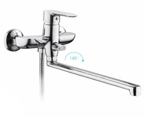 R-22106 Смеситель д/ванны хром Фруд ФРАП
