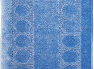 Набор ковриков Залел (1предмет) 60*100см голубой