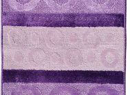 Набор ковриков Залел (2предмет) 60*100/50*60см фиолет./сирен.
